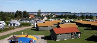 Camping på Sjælland - CampOne Holbæk Fjord
