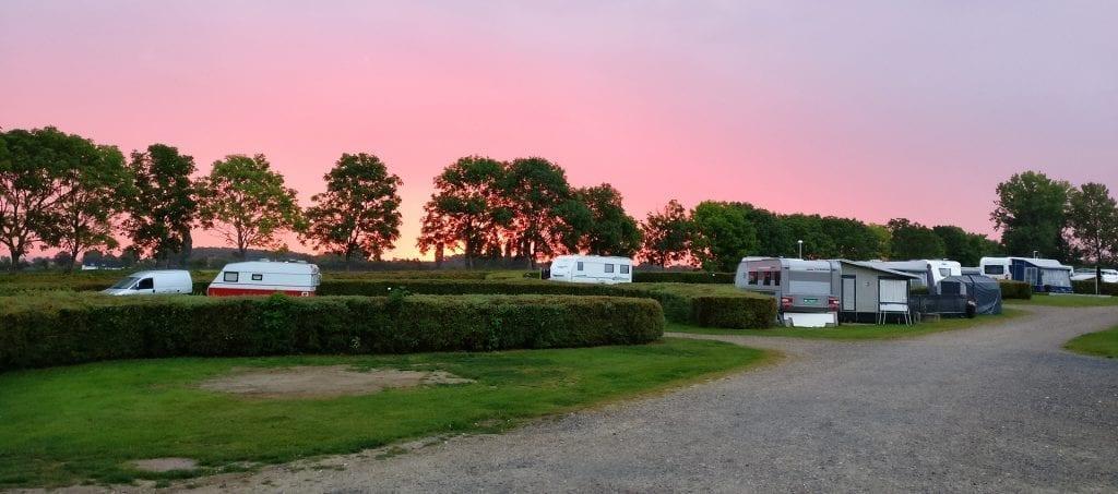 Camping i Holbæk lige ned til fjorden